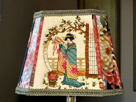 oriental lamp shade red dragon thai chinese table shades