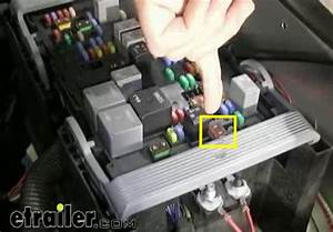 Fuses And Circuit Breakers Required For A Brake Controller On A 2012 Chevrolet Silverado Work