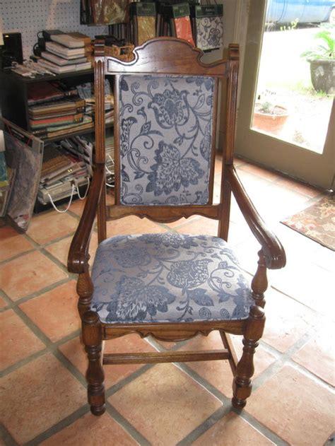 dining room chair cushion redo