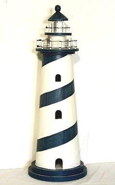 nautical wood lighthouse