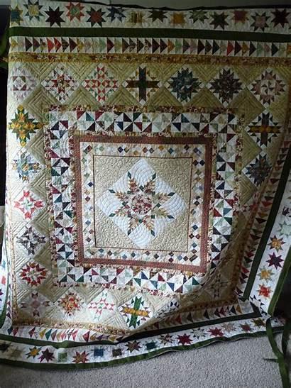 Medallion Quilt Quilts Star Maritza Quilting Designs