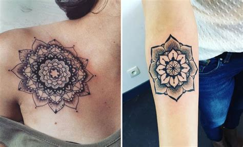trendy mandala tattoo ideas  women page