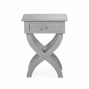 Table Chevet Grise : recherche tiroir du guide et comparateur d 39 achat ~ Teatrodelosmanantiales.com Idées de Décoration