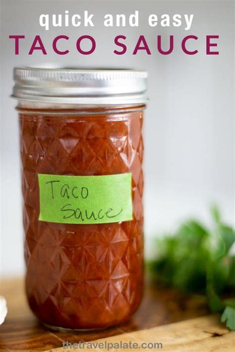 It's also an option for a low sugar, gluten free salsa without spending a bunch of money. When your Tex Mex cravings hit, reach for this homemade taco sauce recipe that's super easy to ...