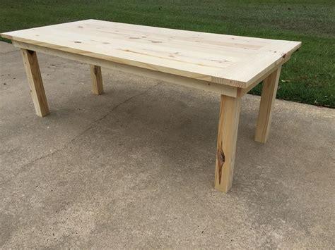 simple farm table buildsomethingcom