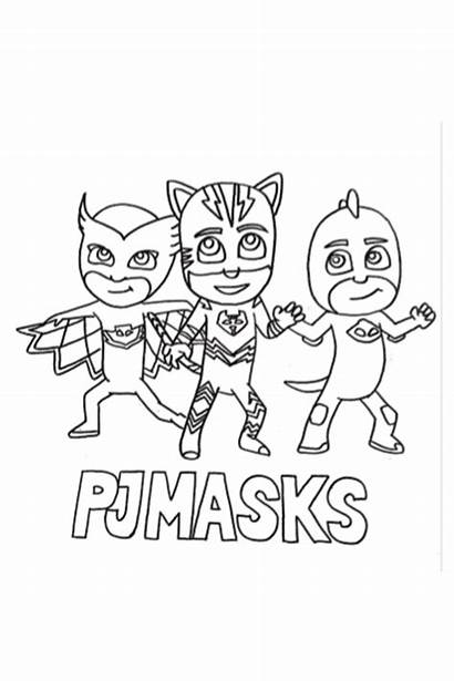 Pj Masks Coloring Pages Preschool Activities Printable