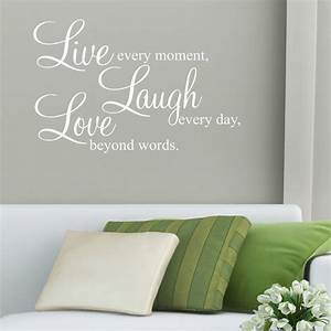 sticker quotes for walls peenmediacom With good look single word wall decals