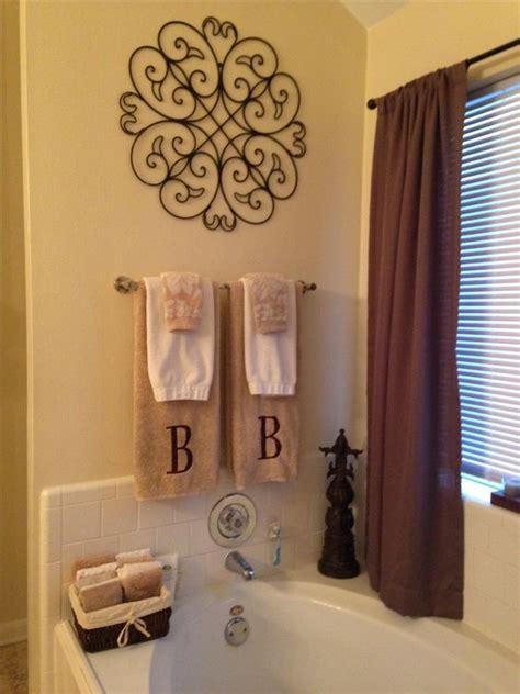 bathroom towel design ideas master bathroom decor my diy projects