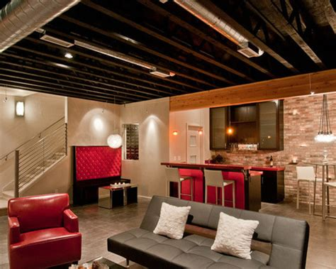 basement lighting brighten your basement with these lighting ideas leviton Unfinished