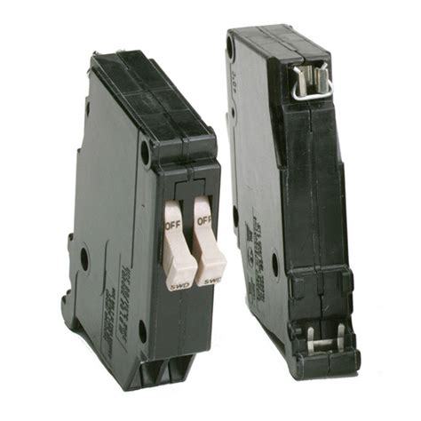 pole breaker eaton ch type 15 15 amp single pole tandem circuit breaker cht1515 the home depot