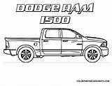 Coloring Trucks Pages Ford sketch template