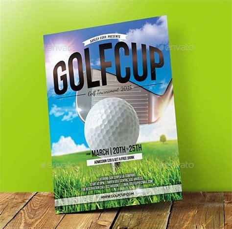 golf tournament flyer templates sample templates