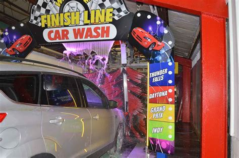 Finish Line Car Wash In Solon, Oh