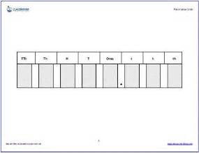 Place Value with Decimals Template
