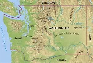 Washington Cascades Map images