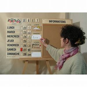 Fabriquer Un Calendrier Perpétuel : magnifique calendrier perp tuel tout en bois fabrication fran aise bec et croc ~ Melissatoandfro.com Idées de Décoration