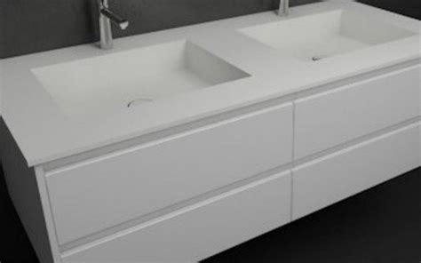 muebles corian mueble ba 241 o a medida con lavabos de dise 241 o corian 504