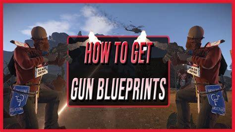 rust guns blueprints fast
