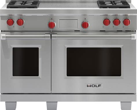 Wolf Df484flp 48 Inch Pro-style Dual-fuel Range With 4 Dual-stacked Sealed Burners, 4.5 Cu. Ft Pretty Painted Chest Of Drawers Mini For Makeup Replace Dishwasher With Wood Drawer Track Replacement Pembroke 5 Tallboy Iris Small Stacking Kitchen And Door Pulls Imaginarium Play Table