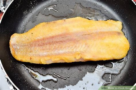 grouper cook wikihow grill step
