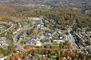 Fairmont State University Campus Map