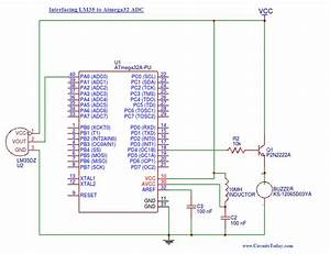How To Use Adc Analog To Digital Converter  In Avr