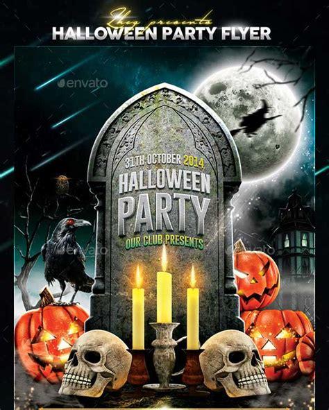 free printable halloween flyer 45 best psd flyer templates 2016