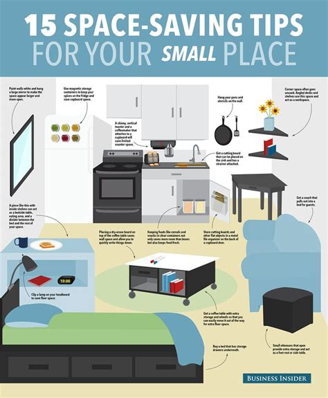 ways to save space in a small bedroom 15 ways to save space in your small apartment small