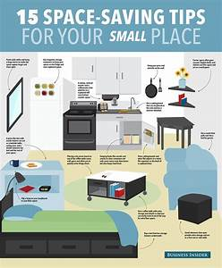 15 ways to save space in your small apartment small for Studio apartment e saving ideas