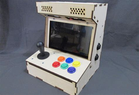 Mini Pac Arcade Cabinet Builders Kit by Diy Arcade Cabinet Kits More Porta Pi Arcade 10 Quot Hd
