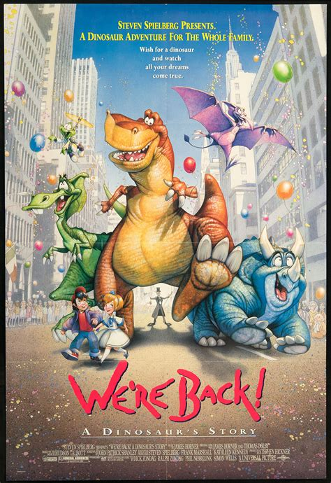 Were Back A Dinosaurs Story Dinosaur Wiki Fandom