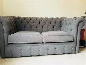Sofa Chesterfield Style : double chesterfield style sofa bed for sale in acton london gumtree ~ Cokemachineaccidents.com Haus und Dekorationen