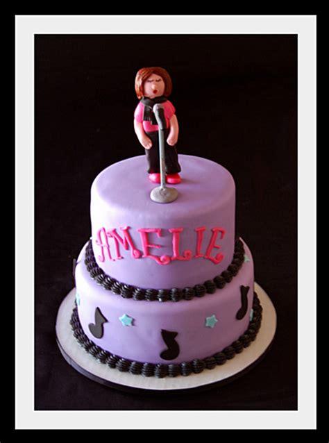 Singing Girl Birthday Cake Cakecentralcom