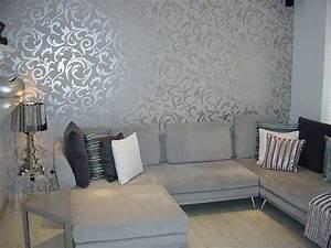 Tapete Living : modele de tapet pentru un living modern ~ Yasmunasinghe.com Haus und Dekorationen