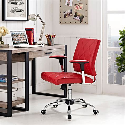 modway lattice vinyl office chair boscov s