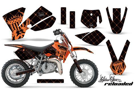 ktm sx50 graphics kit amr racing bike decal sticker sx 50 part 02 08 reloaded bo ebay
