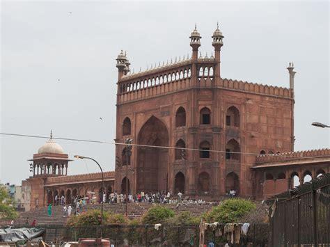 jama masjid friday mosque delhi india sonya  travis