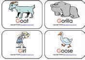 consonant sound mini flashcards   phonics flash cards