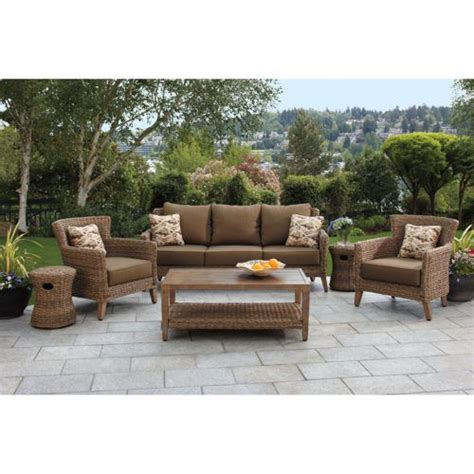 seagrass 6 woven seating set from studio by brown