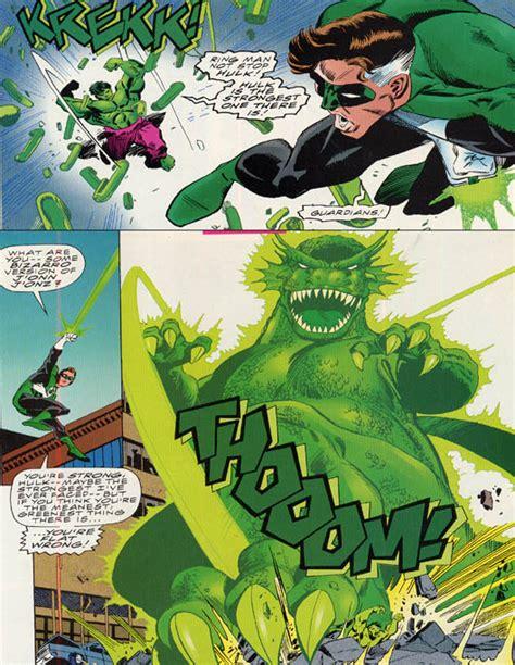 vs green lantern battles comic vine