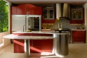 red and grey kitchen ideas 7266 baytownkitchen