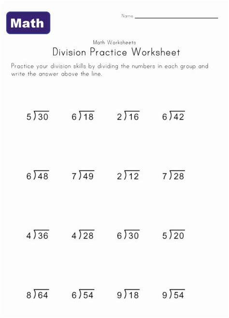 simple division worksheet 4 stuff to buy division with remainders worksheet long division