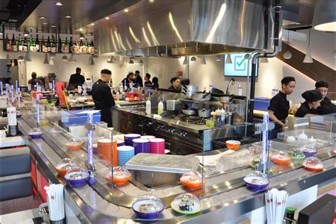 Conveyor Belt Sushi Chain Yo! Will Debut In Nyc Next Month How To Use Metal Loop Belts Know Your Timing Belt Broke My Summer Car Fan Noise Can I Tell If Is Broken Green Lean Six Sigma Salary Black Certification Course Horizon Fitness Treadmill Lube Reset 2003 Ford Taurus V6 Serpentine Diagram
