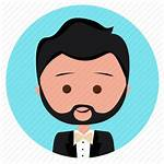 Handsome Suit Boy Icon Icons Characters Editor