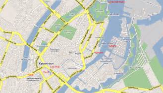 Copenhagen City Center Map