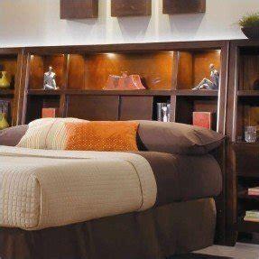 Lighted Bookcase Headboard - california king bookcase headboard foter