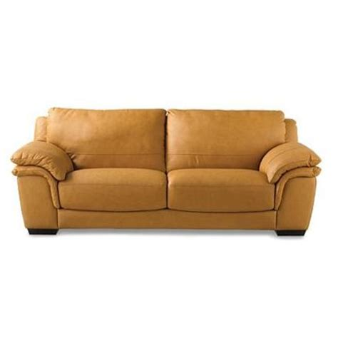 natuzzi editions siena ii leather sofa family room
