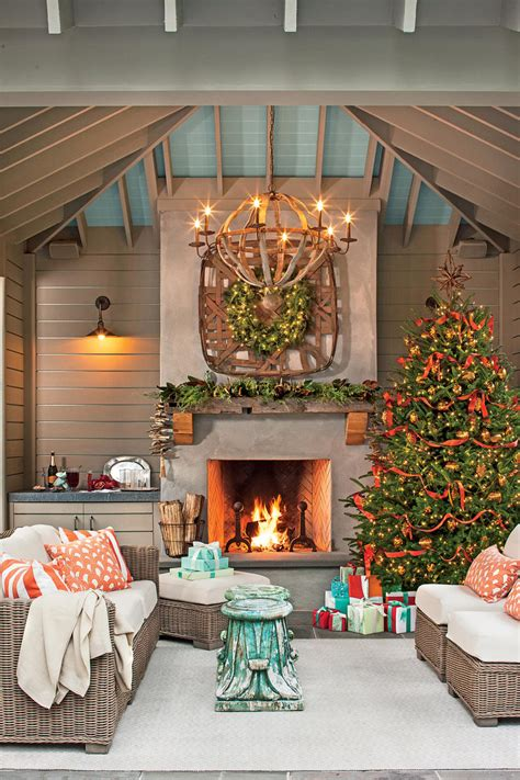 cuisine living tree decorating ideas southern living
