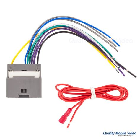 Stereo Speaker Wiring Harnes 2007 Chrysler by Metra 70 6522 Turbowires Wiring Harness Chrysler Jeep And