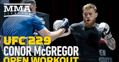 Workout Conor Ufc Mcgregor Gg Mma